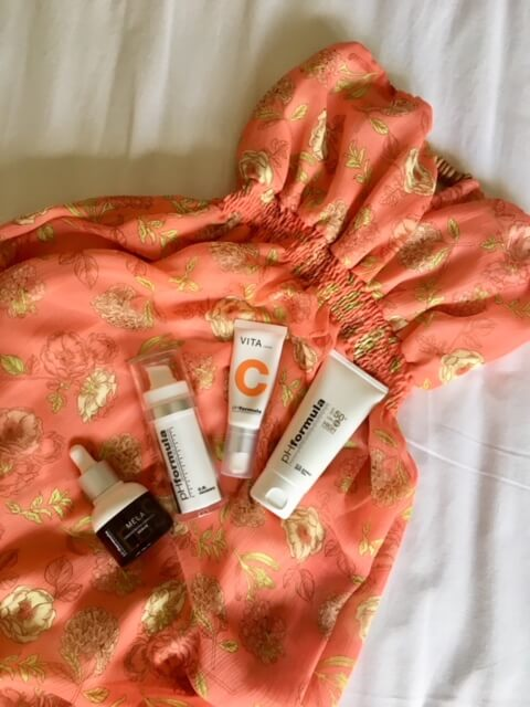 RECOMMENDED SKIN CARE ROUTINE FOR SUNNY HOLIDAYS