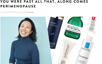Interview with Beauty Editor Victoria Woodhall at Get The Gloss on Hormonal Acne in Perimenopause